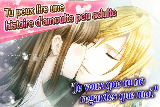 Code Triche Scandal Amoureux: Visual novel games Français apk mod screenshots 2