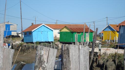 l'Ile d'Oléron située à 1h25  de notre maison d'hôtes à Saint Sauveur d'Aunis