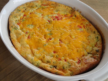 Crustless Ricotta Quiche (vegetarian) Recipe