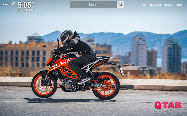 RC 390 New Tab RC 390 Wallpapers