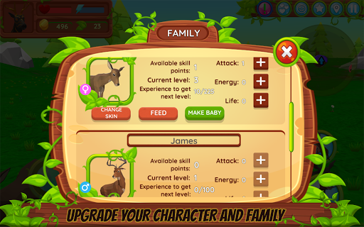 Deer Simulator - Animal Family game (apk) free download ...