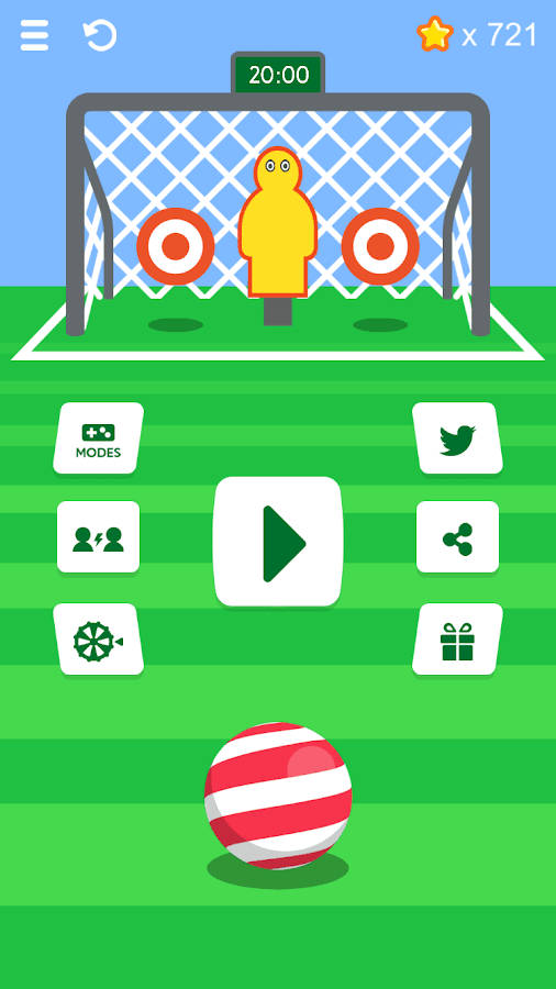 Silly season - penalty shooter- screenshot