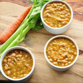 Hearty White Bean Soup.