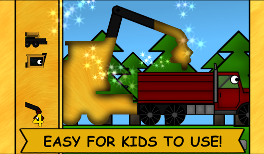Kids Trucks: Puzzles 2- screenshot thumbnail