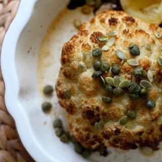 Lemony Roasted Cauliflower.