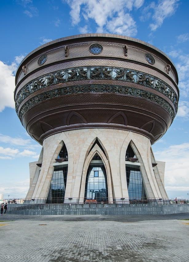 дворец бракосочетания, он же центр семьи «Казан»