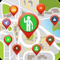 Around Me Places Tracker icon
