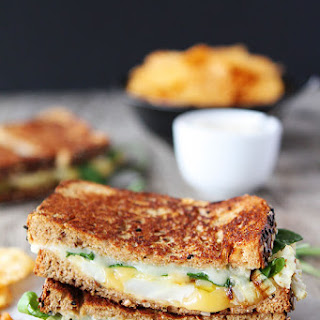 Roasted Cauliflower Grilled Cheese.