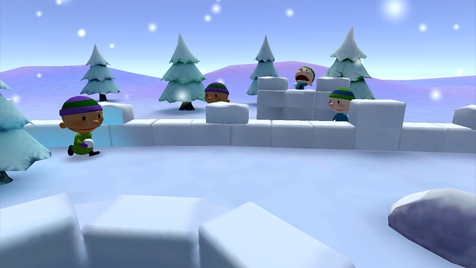Snow Strike VR (Free)- screenshot