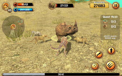 Wild Cheetah Sim 3D 2.0 Cheat screenshots 2