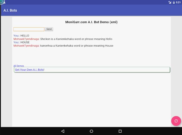 A.I. Bots Screenshot