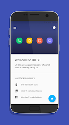 UX Experience S8 - Icon Pack APK screenshot thumbnail 1