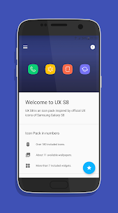 UX Experience S8 – Icon Pack V0.5.4 Mod APK 1