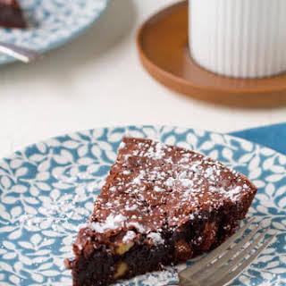 4 Minute Brownie Pie.