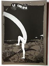 Photo: Série limitée 40ex numérotés, signés par HubbubHum. A3 gris, 300g, sérigraphié blanc et noir.