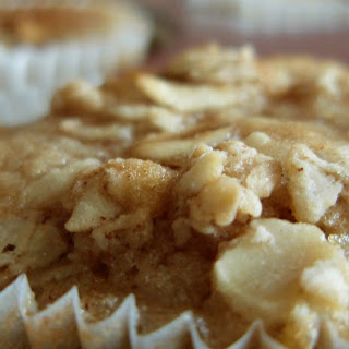 Too Sour Sourdough Applesauce Muffins