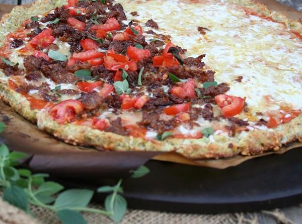 Zucchini-crusted Pizza Recipe