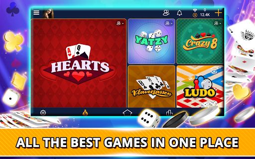 VIP Games: Hearts, Rummy, Yatzy, Dominoes, Crazy 8 android2mod screenshots 8