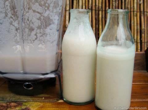Home Made Raw Coconut Milk Recipe