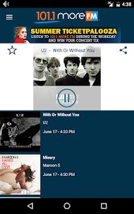 101.1 More FM- screenshot thumbnail