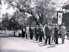 Photo: 1959 May Procession_St Cyprian Parish