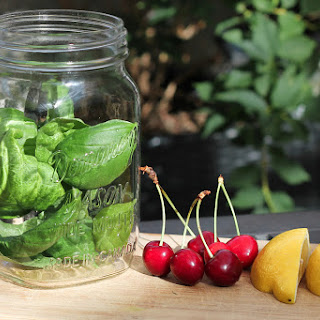 Cherry Basil Iced Tea Recipe