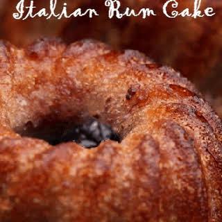 Italian Rum Cake.