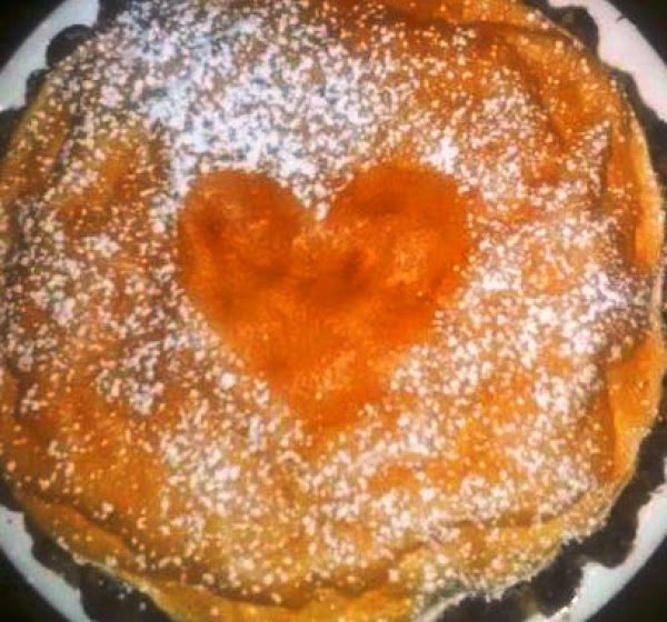 Bake to light brown. Dust with powdered sugar.