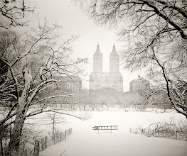 "Photo: *Central Park winter landscape...""  Summer's memories sit suspended like words caught in the throat of winter: stifled, muffled utterances barely able to escape in the form of speech.  But in the wide open expanse of dreams, words take flight as summer's memories break through the shards of branches conjuring up the outline of buildings and cityscapes on the condensation of winter's frozen breath.    New York Photography: Central Park west seen through snow-covered trees  -  You can view this post along with information about where to purchase prints of this image at my site here:  http://nythroughthelens.com/post/38386131510/central-park-winter-landscape-san-remo-through  -  Tags: #photography   #newyorkcity   #newyorkcityphotography   #nyc   #nycphotography   #manhattan   #centralpark   #winter   #centralparkwinter   #snow   #centralparksnow   #newyorksnow   #newyorkwinter   #nycwinter   #winterlandscape   #landscape   #poetry   #prose   #sanremo"