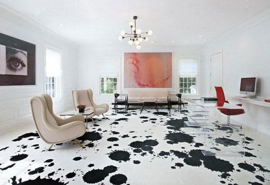 10 Wacky Modern Flooring Options