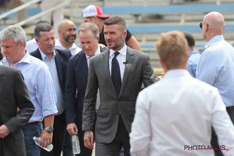 🎥 David Beckham réagit bien aux moqueries du public adverse