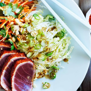 Seared Tuna Salad With Sesame Dressing