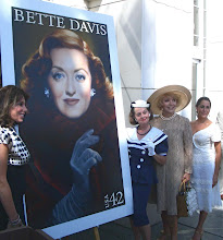Photo: Bette Davis Postage Stamp Party