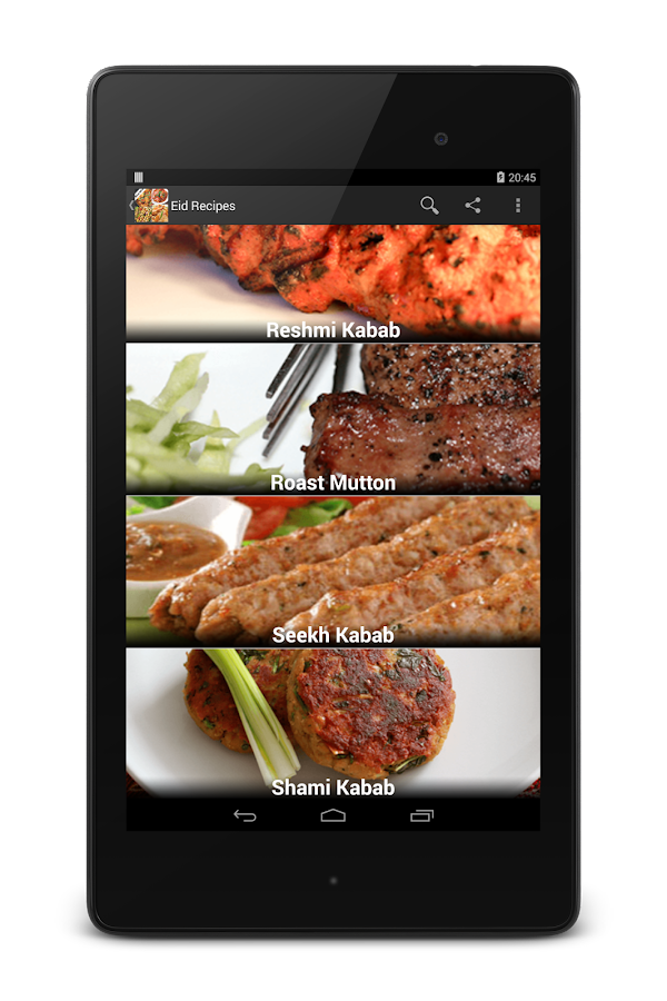 Special Eid al-Adha Recipes- screenshot