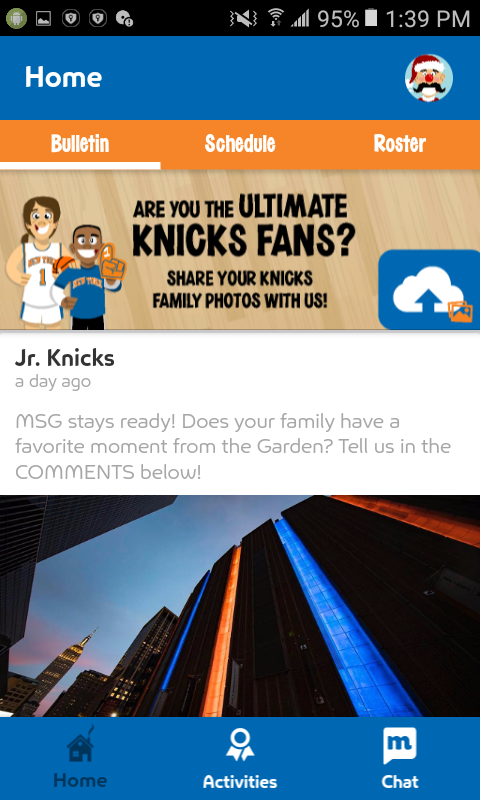 Junior Knicks- screenshot