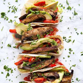 Adobo Lime Portobello Tacos.