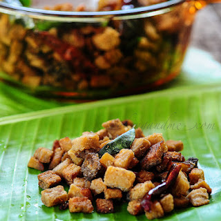 Yam Fry   Kerala Style Chena Fry   Yam Fry