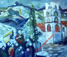 """Photo: San Geniale, Ilario Cipolla di Catanzaro (1946 - 2010), anno 2000 Primo Classificato Concorso di Pittura """"Agellus"""" Assessorato Cultura Comune di Aiello Calabro"""