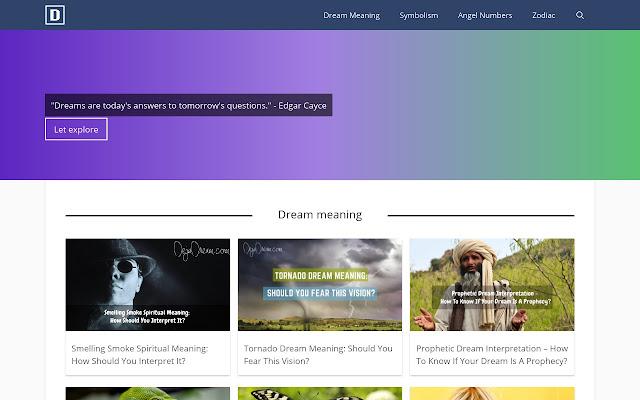DejaDream.Com-Dream Meaning,Zodiac,Numerology