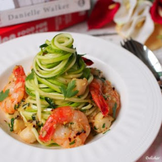 Shrimp & Scallop Scrampi Zoodles