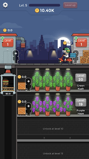 Weed Factory Idle apkdebit screenshots 3