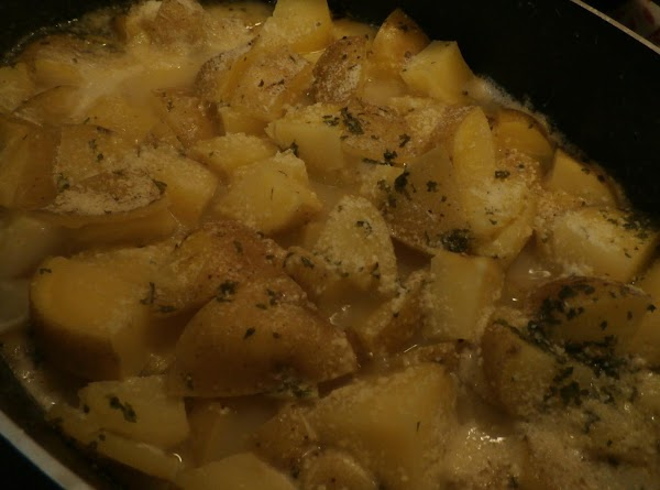 On The Stove Parsley Parm Yukons Recipe