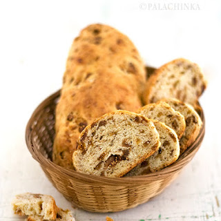Bread With Dried Figs.