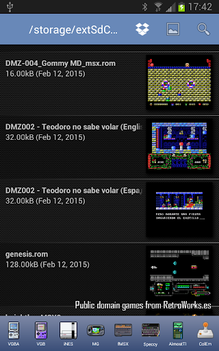 fMSX - Free MSX Emulator by Garage Research Emulators (Google Play
