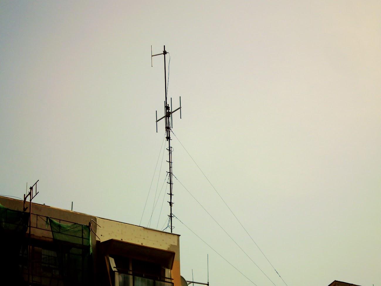 Békéscsaba/toronyház - helyi URH-FM adóállomás