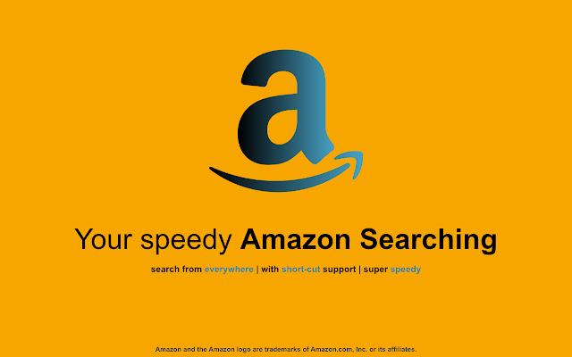 Amazon Search - Super speedy & easy