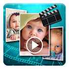Baby Photos Slideshow Maker icon