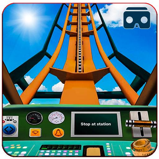 VR Train Roller Coaster Drive