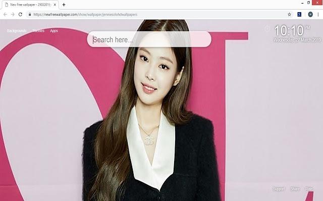 Jennie Solo HD wallpaper & background