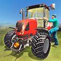Farming Tractor Driver simulator icon